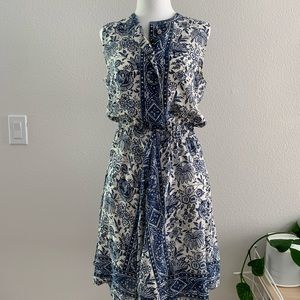 Silk Porcelain Madewell Summer Dress